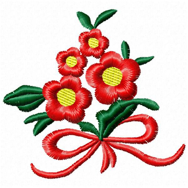 Flower Free Embroidery Designs