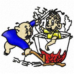 Cerdo Cocinando
