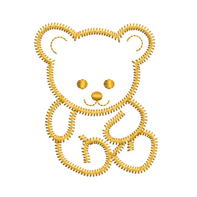 44f3384a77e Teddy Bear embroidery design - free download