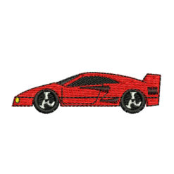 Red Race Car