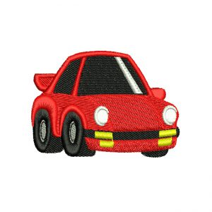 Mini Red Car