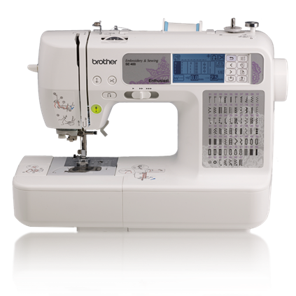 Brother SE400 The Machine Embroidery