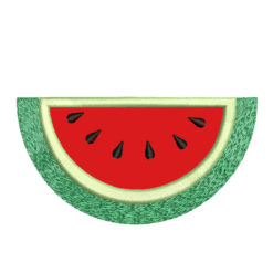Watermelon Applique