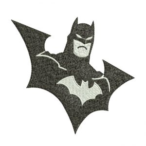 Batman Embroidery Design