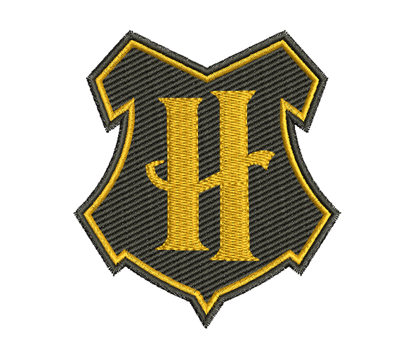 Harry Potter - Houses Crests Badges embroidery design
