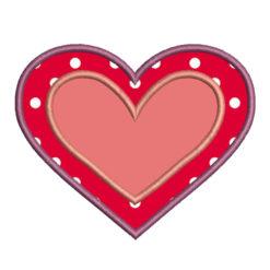 Heart Applique