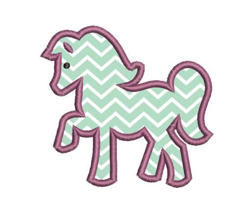 Horse Applique