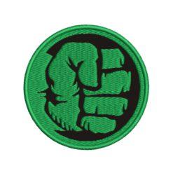 Hulk Emblemed Embroidery Design