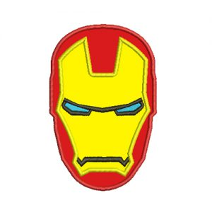 iron Man embroidery design