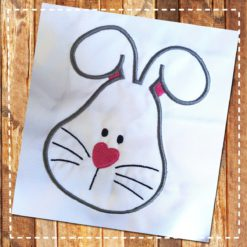 Rabbit Head Applique