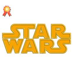 Star Wars Applique Embroidery Design