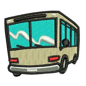 Diseño de bordado de MiniBus