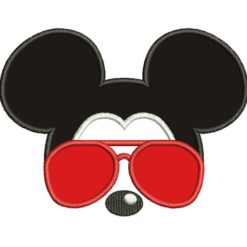 Mickey Mouse With Glasses
