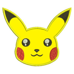 Pikachu Applique