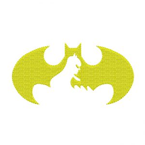 Original Emblem Of batman Embroidery design - free download