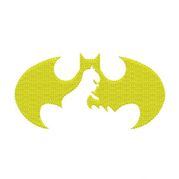 Original Emblem Of batman Embroidery design - free download