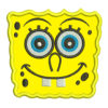 spongeBob applique embroidery design