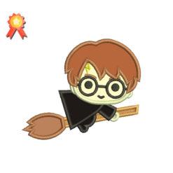 Mini Harry Potter Applique