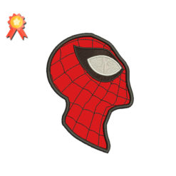 Spider-Man Applique Embroidery Design