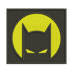 Batman Path Embroidery Design