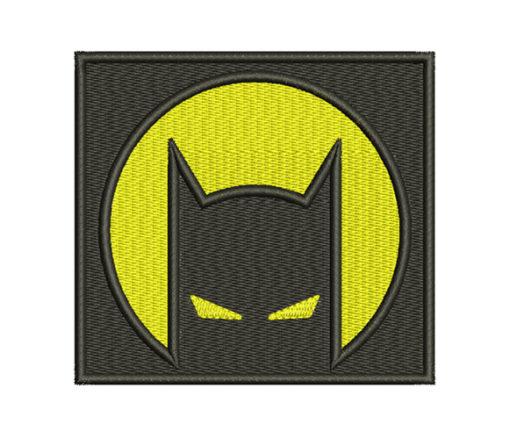 Batman Path Embroidery Design