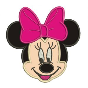 Minnie Mouse Diseño de Bordado