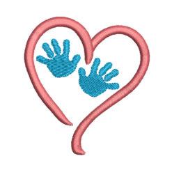 Baby Hand - Newborn Machine Embroidery Design