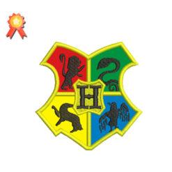 Hogwarts Crest Applique