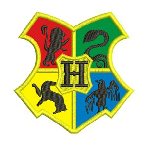 Hogwarts Crest - Harry Potter Machine Embroidery Design