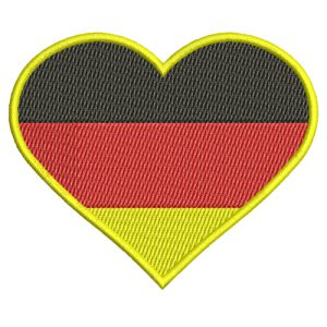 Heart Of Germany Machine Embroidery Design