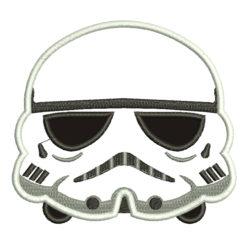 Storm Trooper Machine Embroidery Design