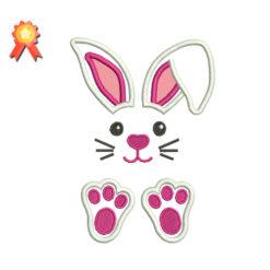 Easter Applique Machine Embroidery Design