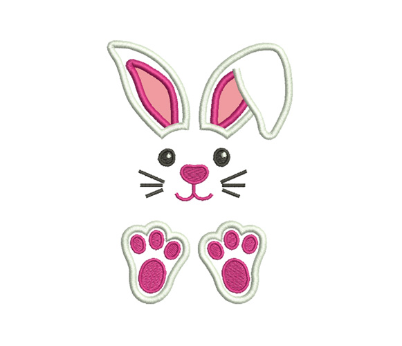 Easter Applique Machine Embroidery Design