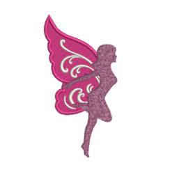 Fantasy Fairy Machine Embroidery Design
