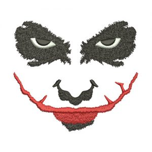 Joker Machine Embroidery Design