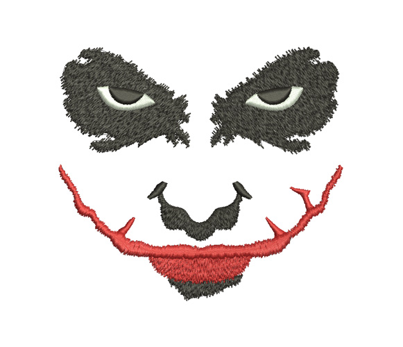 Joker Machine Embroidery Design