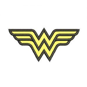 Wonder Woman Logo Machine Embroidery Design