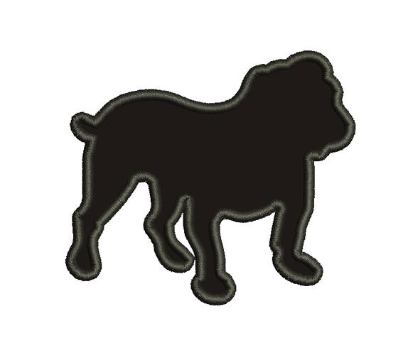 Bulldogs Machine Embroidery Design