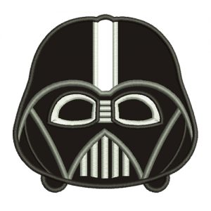 Mini Darth Vader Machine Embroidery Design