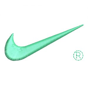 Nike Logo Machine Embroidery Design