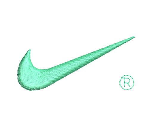 Nike Logo Machine Embroidery Design