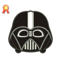 Mini Darth Vader Machine Embroidery Designs