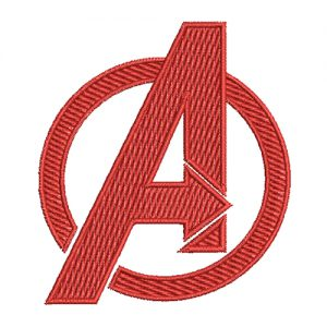 Avenger Machine Embroidery Design