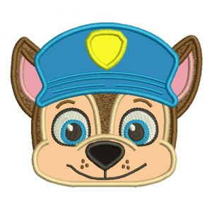 Chase Paw Patrol Machine Embroidery Design