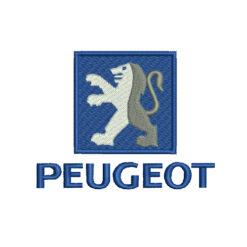 Peugeot Logo Machine Embroidery Design