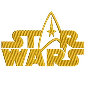 Star Wars Logo Machine Embroidery Design