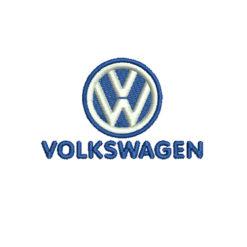 VolksWagen Logo Machine Embroidery Design