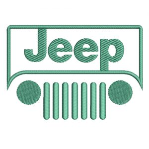 jeep Machine Embroidery Design