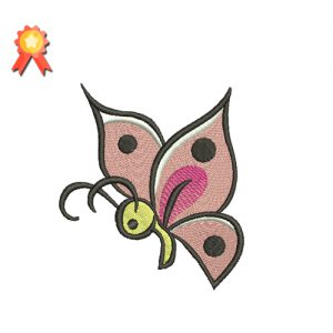 Beautiful Butterfly Machine Embroidery Design