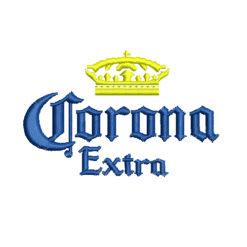 Corona Machine Embroidery Design